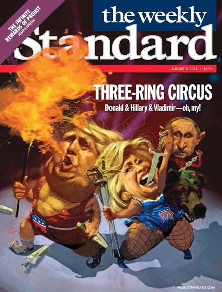 Washington Examiner Cover - 8/8/2016