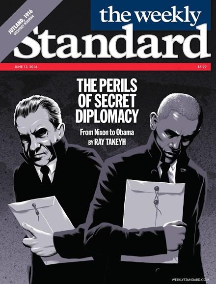 Washington Examiner Cover - 6/13/2016