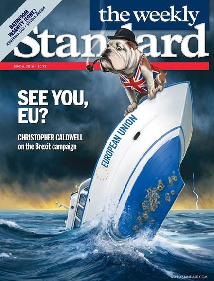 Washington Examiner Cover - 6/6/2016