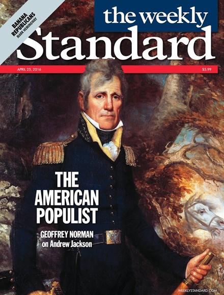 Washington Examiner Cover - 4/25/2016