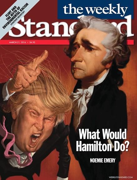 Washington Examiner Cover - 3/21/2016