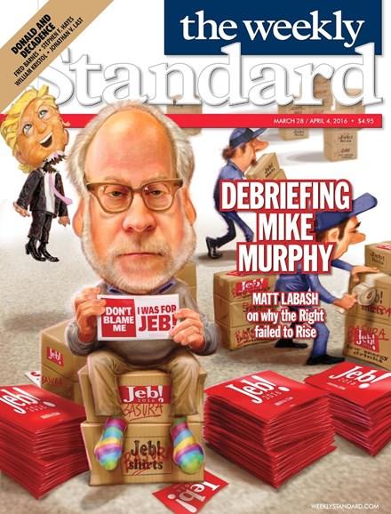 Washington Examiner Cover - 3/28/2016