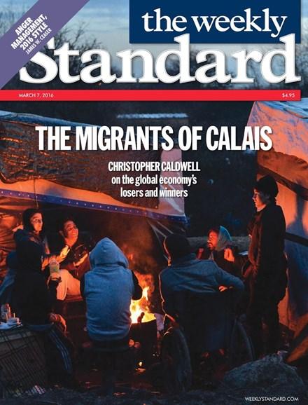 Washington Examiner Cover - 3/7/2016