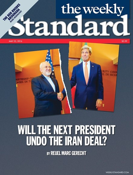 Washington Examiner Cover - 5/23/2016
