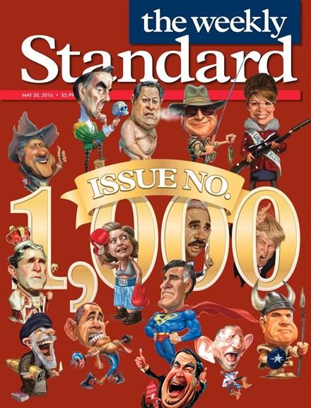 Washington Examiner Cover - 5/30/2016