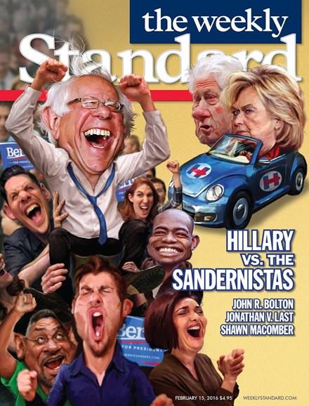 Washington Examiner Cover - 2/15/2016