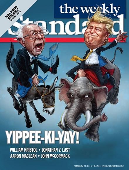 Washington Examiner Cover - 2/22/2016