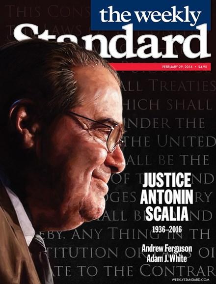 Washington Examiner Cover - 2/29/2016