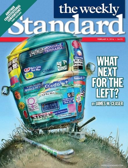 Washington Examiner Cover - 2/8/2016