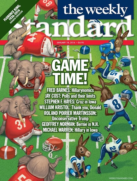 Washington Examiner Cover - 1/18/2016