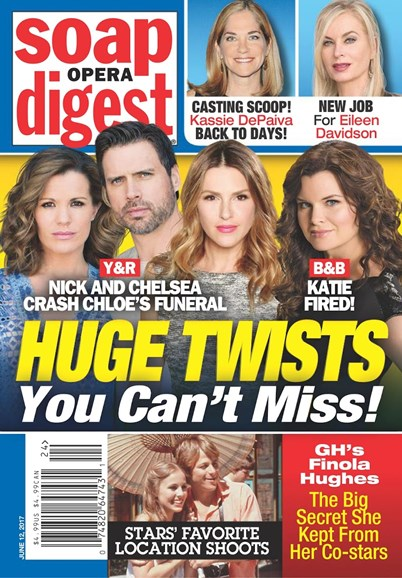 Soap Opera Digest Cover - 6/12/2017
