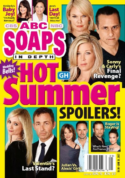 ABC Soaps In Depth Cover - 6/19/2017