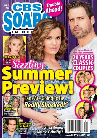 CBS Soaps In Depth Cover - 6/12/2017