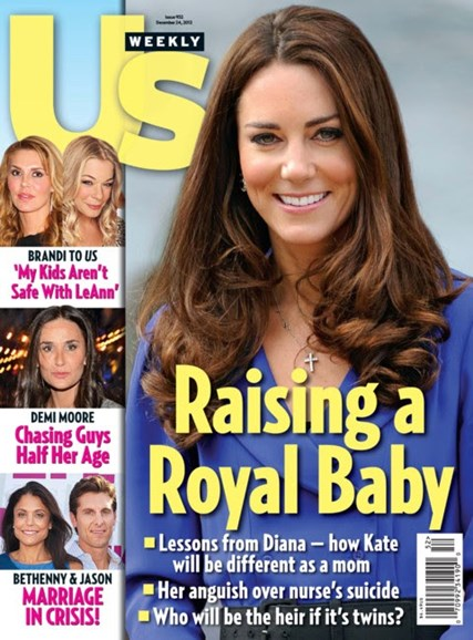 Us Weekly Cover - 12/24/2012