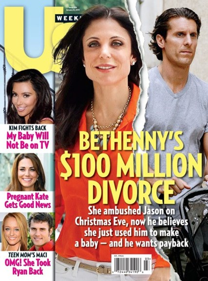 Us Weekly Cover - 1/21/2013