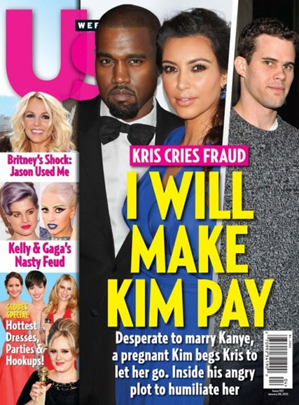 Us Weekly Cover - 1/28/2013