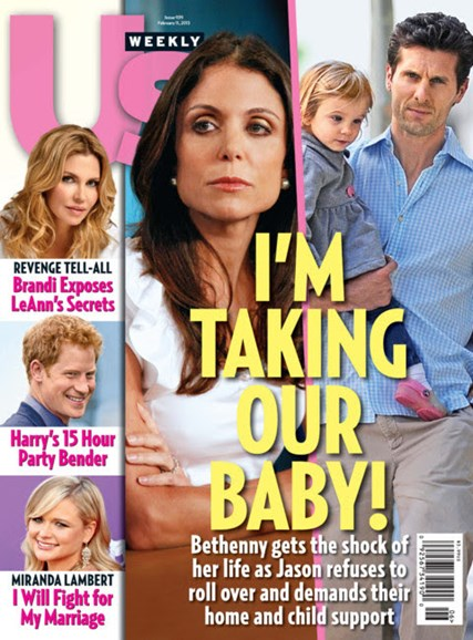 Us Weekly Cover - 2/11/2013