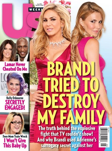 Us Weekly Cover - 2/4/2013