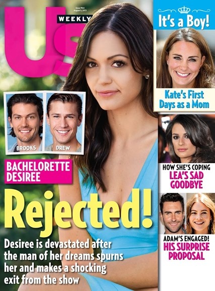 Us Weekly Cover - 8/5/2013