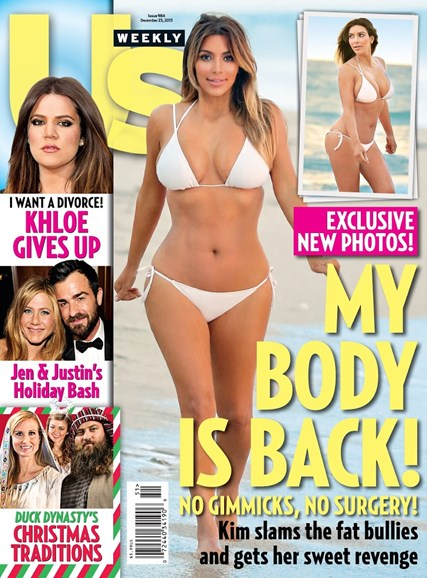 Us Weekly Cover - 12/23/2013