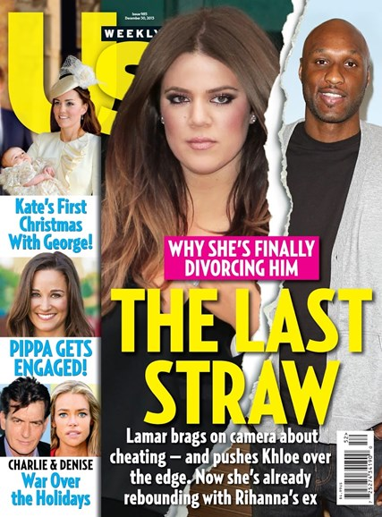 Us Weekly Cover - 12/30/2013