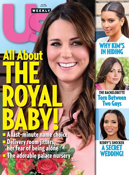 Us Weekly Cover - 7/22/2013