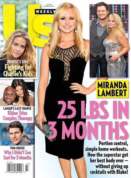 Us Weekly Cover - 11/25/2013