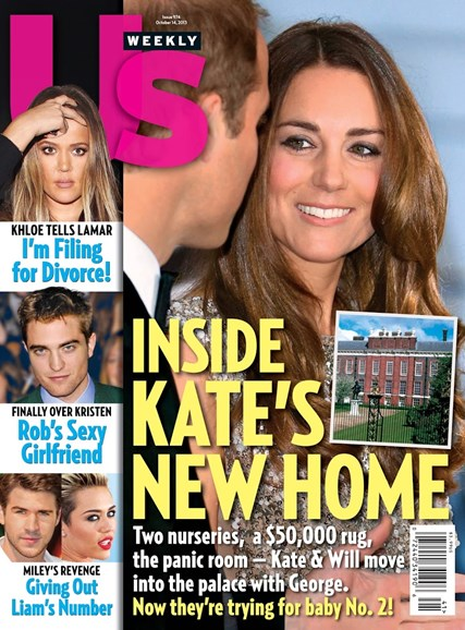 Us Weekly Cover - 10/14/2013