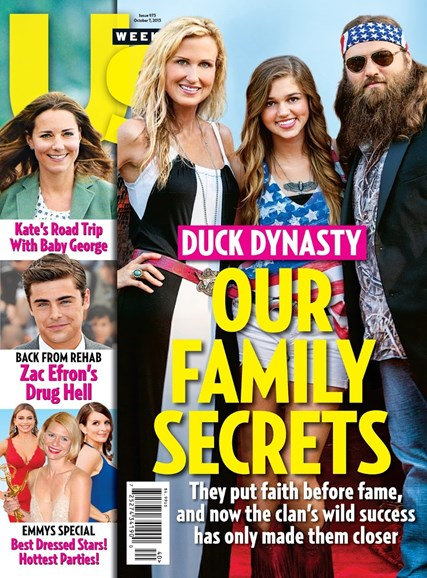 Us Weekly Cover - 10/7/2013