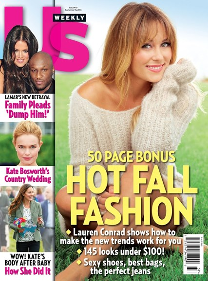 Us Weekly Cover - 9/16/2013