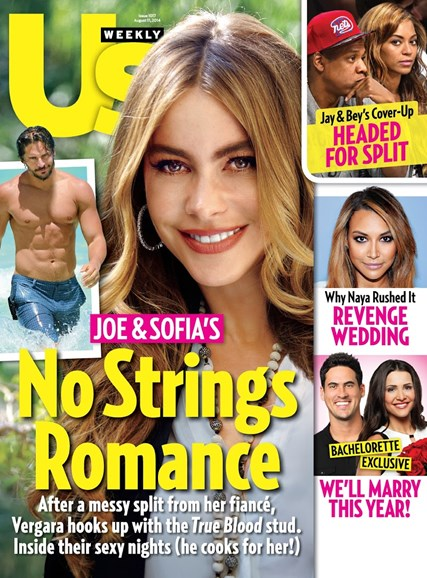 Us Weekly Cover - 8/11/2014