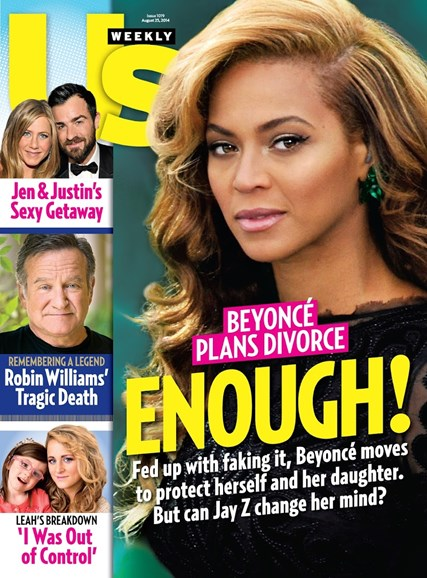 Us Weekly Cover - 8/25/2014