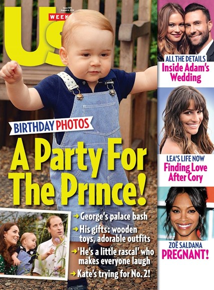 Us Weekly Cover - 8/4/2014