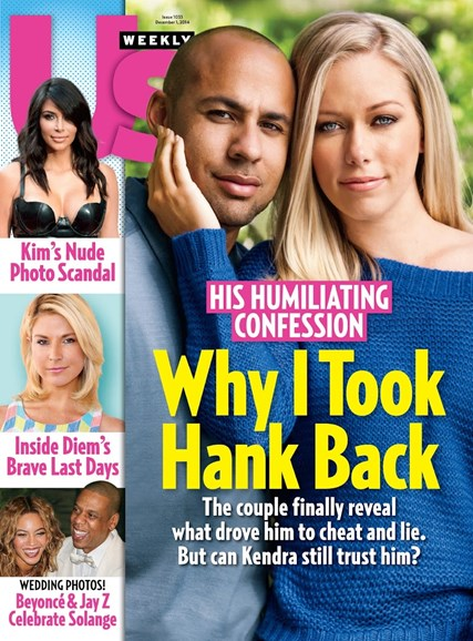 Us Weekly Cover - 12/1/2014