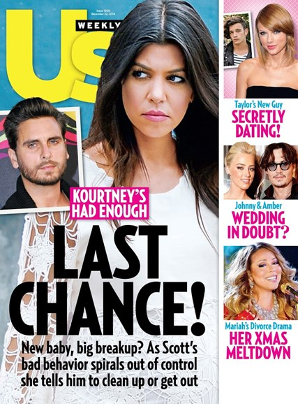 Us Weekly Cover - 12/22/2014