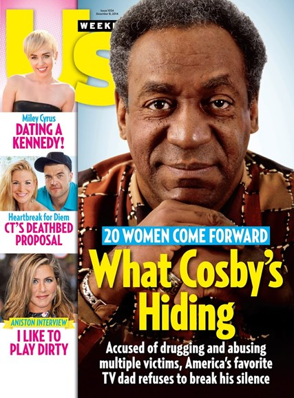 Us Weekly Cover - 12/8/2014