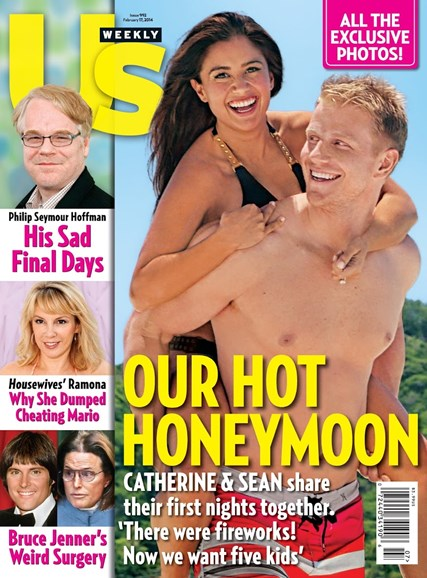 Us Weekly Cover - 2/17/2014