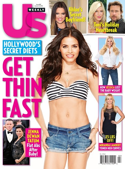 Us Weekly Cover - 1/13/2014