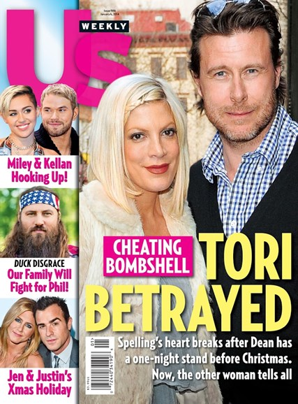Us Weekly Cover - 1/6/2014