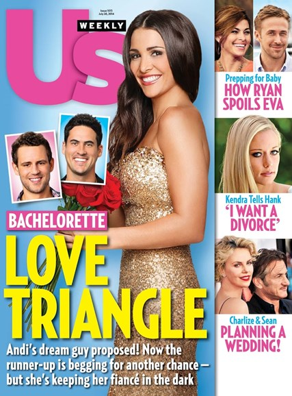 Us Weekly Cover - 7/28/2014