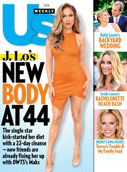 Us Weekly Cover - 7/7/2014