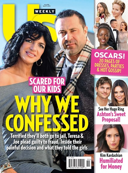 Us Weekly Cover - 3/17/2014