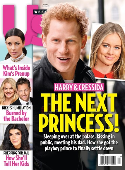Us Weekly Cover - 3/24/2014