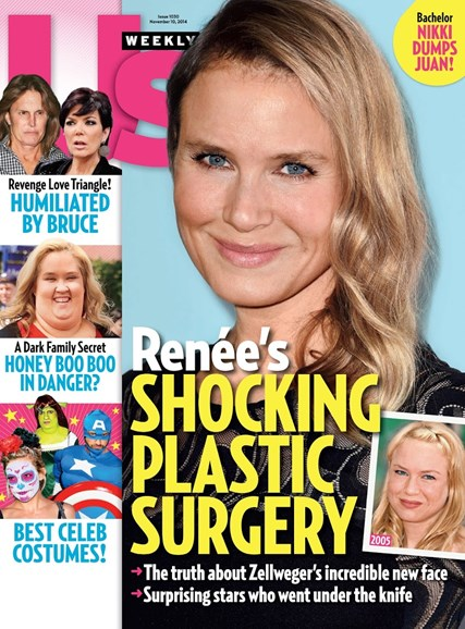Us Weekly Cover - 11/10/2014