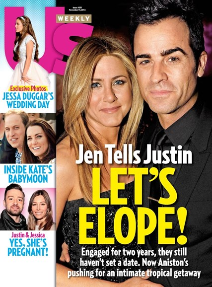 Us Weekly Cover - 11/17/2014