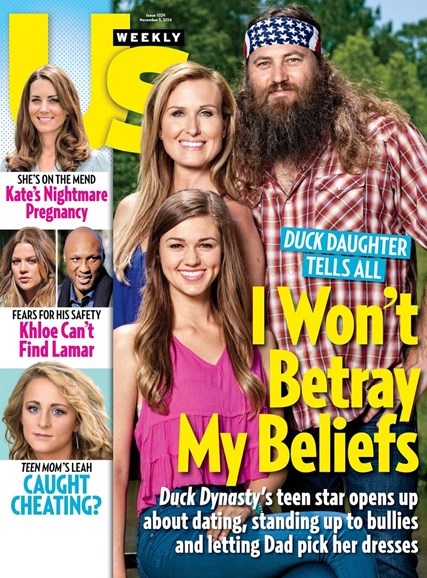 Us Weekly Cover - 11/3/2014