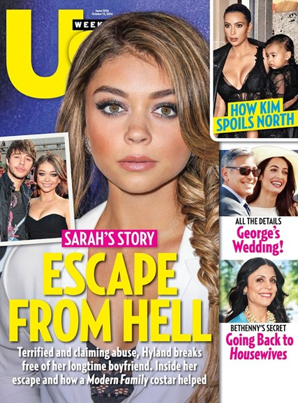 Us Weekly Cover - 10/13/2014