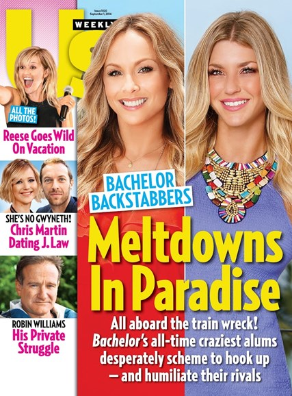 Us Weekly Cover - 9/1/2014