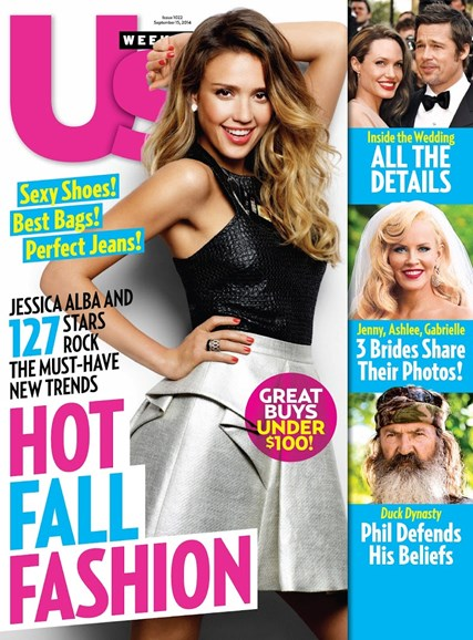 Us Weekly Cover - 9/15/2014
