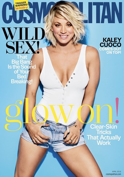 Cosmopolitan Cover - 4/1/2016
